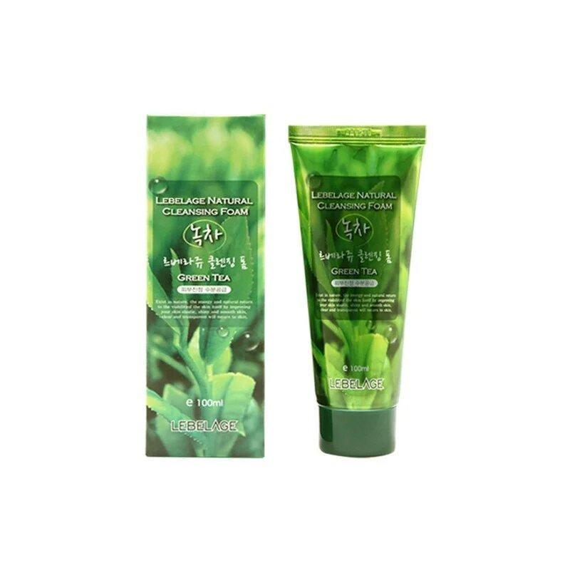 Пенка для умывания лица с огурцом Lebelage Natural Cleansing Foam Cucumber 100 мл (8809317283128)