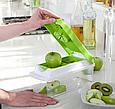 Овощерезка Nicer Dicer Plus Найсер Дайсер шинковка тёрка измельчитель, Мультислайсер для овощей и фруктов, фото 2
