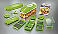 Овощерезка Nicer Dicer Plus Найсер Дайсер шинковка тёрка измельчитель, Мультислайсер для овощей и фруктов, фото 10