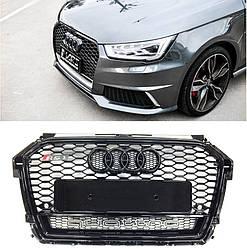 Решітка радіатора Audi A1 8X (14-18) стиль RS1