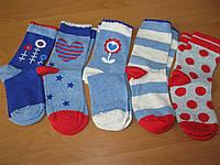 Детские цветные носочки  23-26 для девочки Babexi
