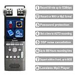 Профессиональный цифровой диктофон Savetek GS-R06, стерео, 8 Гб + поддержка SD карт, фото 2