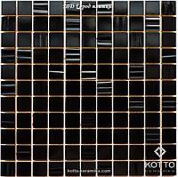 Мозаика СМ3001 С2 Black Black Str - керамическая мозаика 300х300