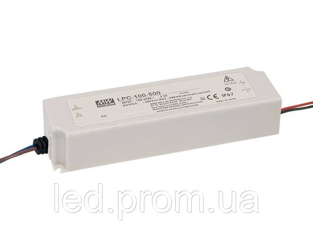 Блок питания Mean Well 100.8W DC72V IP67 (LPC-100-1400)
