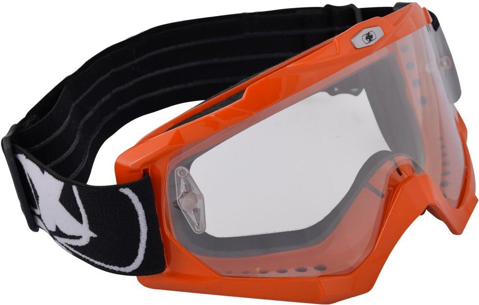Окуляри для мотокросу Oxford Assault Pro Goggle, помаранчеві