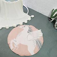 Одеяло коврик в детскую комнату Единорог, фото 1