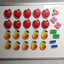 Магнитная математика Яблоки и груши