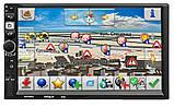 Автомагнитола Pioneer 7018B 2DIN, GPS, 2Gb RAM, 32 Gb ROM, Android 8.1, IpTV, WIFI, FM, фото 2