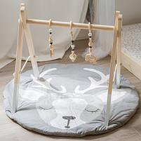 Ковдра килимок в дитячу кімнату Оленя, фото 2