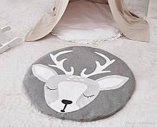 Ковдра килимок в дитячу кімнату Оленя