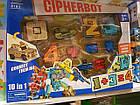 Трансформер Cipherbot Цифры 8181 10 в 1, робот, транспорт, цифра, фото 2