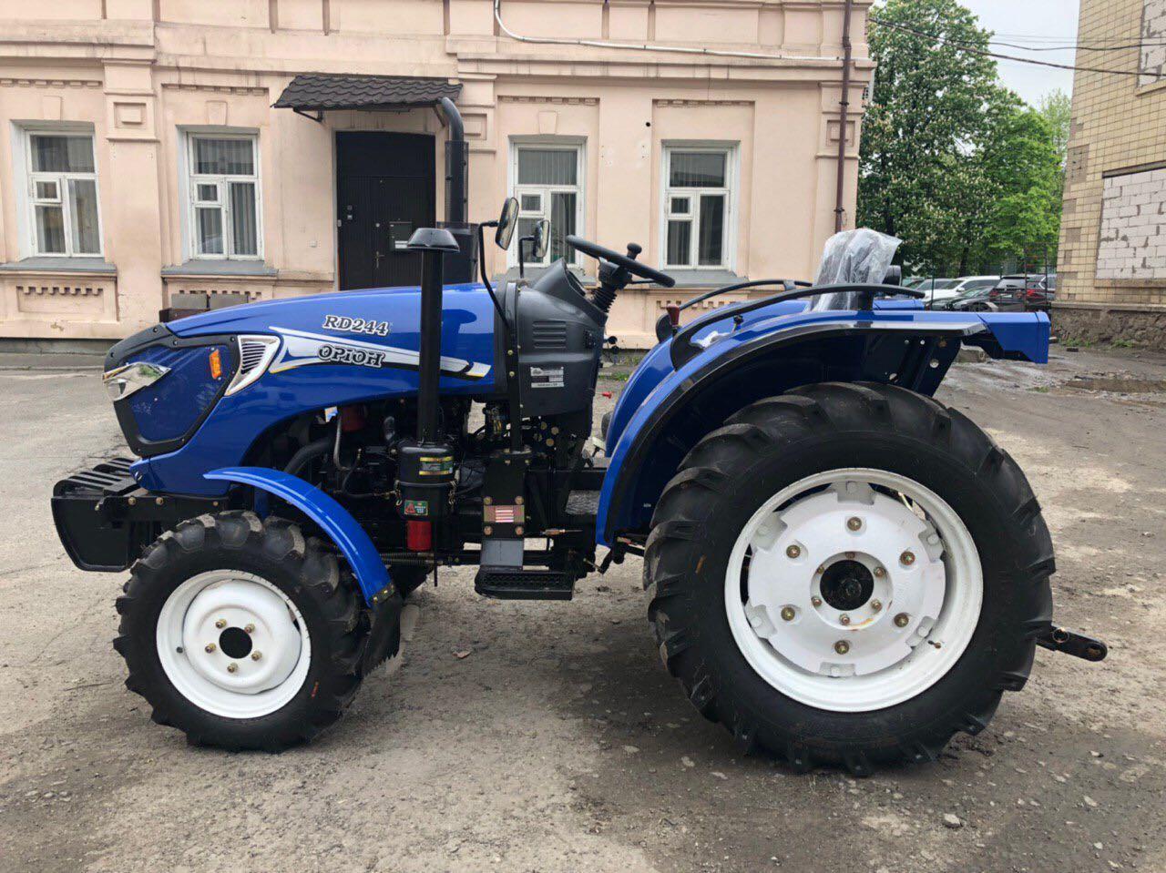Мини-трактор Орион RD-244 - реверс КПП, широкая резина