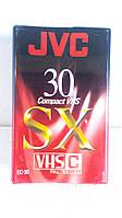 JVC видеокассеты VHS-C компакт для видеокамер made in JAPAN