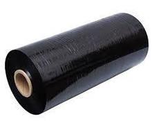 Чорна стретч плівка машинна 500мм х 1700м х 20мкм