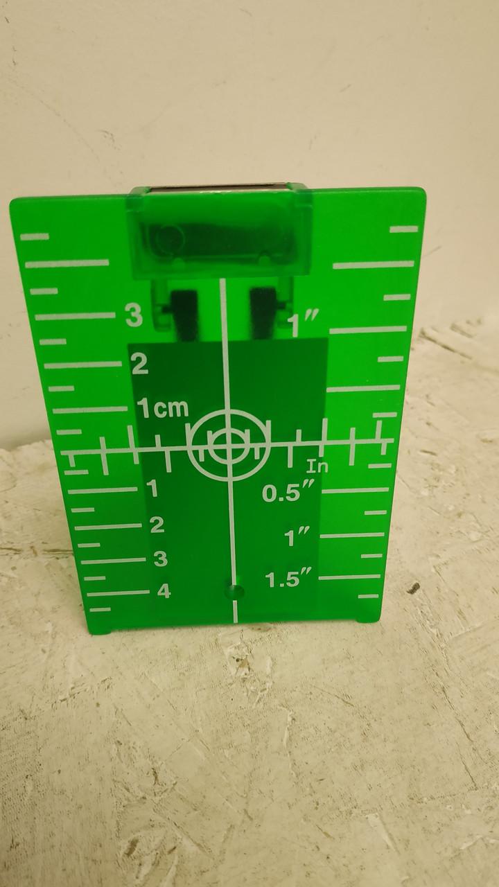 Магнитная мишень для лазерного уровня