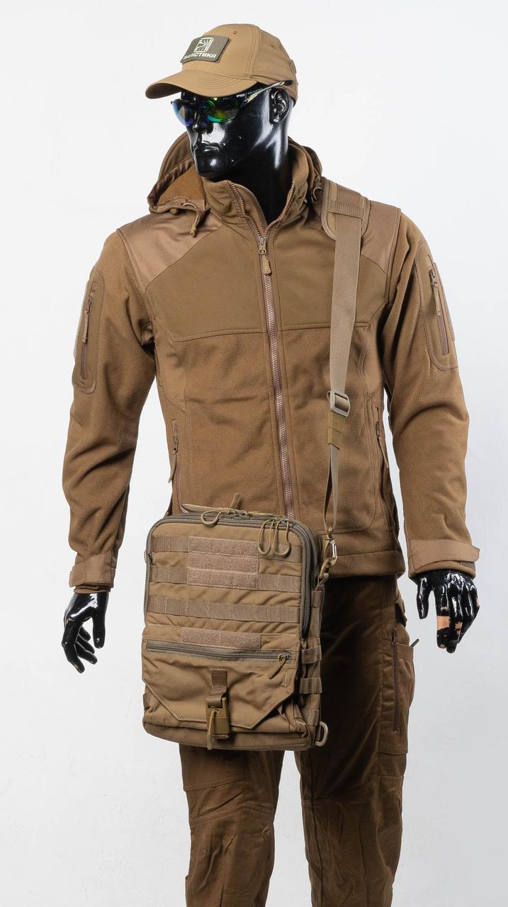 Тактичний планшет (тактична сумка планшет), колір Койот