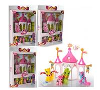 Игровой Домик Замок для Пони 6627 My Little Pegasus с фигурками пони