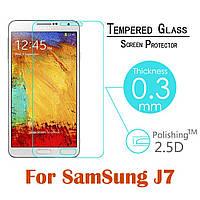 Защитное стекло для Samsung Galaxy J7, фото 1