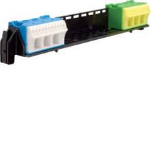 Удерживатель с клемами  PE/N 11xN+11xPE/3xN+3xPE для щитков Hager volta VU и vector (VZ461)