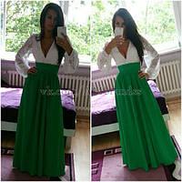 Платье женское в пол РК153