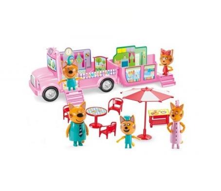 Автобус для пикника Три кота с аксессуарами