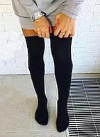 Женские гетры черные, фото 1