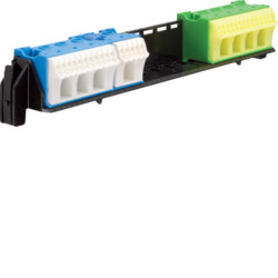 Удерживатель с клемами  PE/N 16xN+14xPE/4xN+4xPE для щитков Hager volta VU и vector (VZ462)