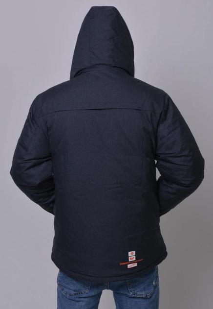 Куртка зимняя Columbia Omni-Heat горнолыжная серая сзади