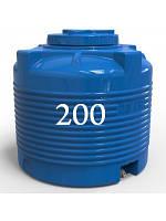 Емкость вертикальная з 200 литров.