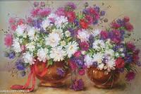 Картины художников. Живопись маслом Цветы. Картины для дома.