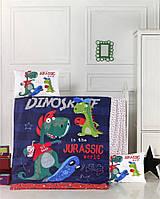 Комплект в детскую кроватку Victoria «Dino»