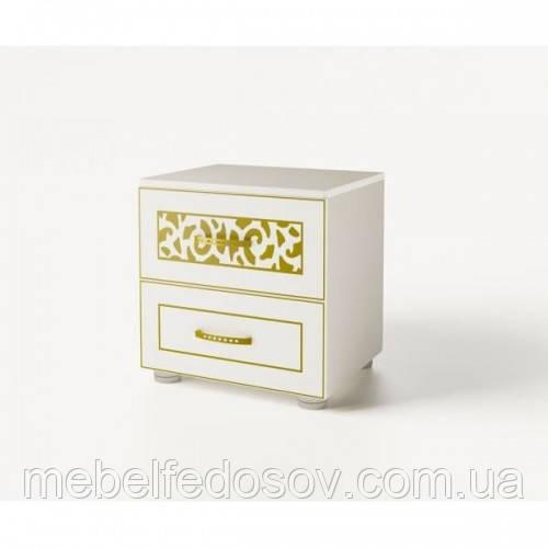 Тумба прикроватная Полина Нова  (Світ меблів) 550х460х570мм