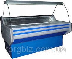 Вітрина холодильна ВХСК Елегія 2.0 з гнутим склом