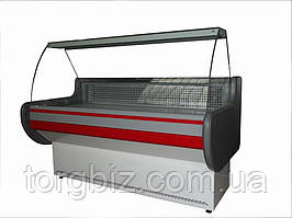 Витрина холодильная ВХСК Лира М 2.0 с гнутым стеклом