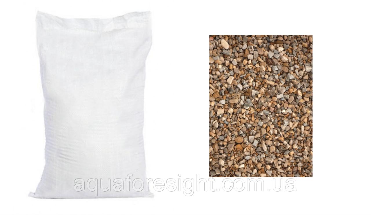 Гравий 4,0-6,0мм для подложки (25 кг/мешок)