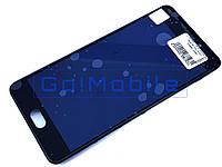 Дисплей + сенсор (модуль) Meizu M6 Note (M721) черный + рамка