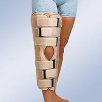 Тутор колінного суглобу з боковими і задніми жорсткими пластинами, універсальний, 60 см  IR 6000
