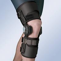 Ортез колінного суглобу з обмежувачем згинання-розгинання, з широкими ременями для фіксації 94231