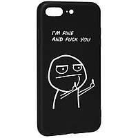 Чехол накладка на iPhone 7 Plus/8sPlus Viva Print Case № 2