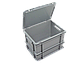 Пластиковый ящик  400х300х270 мм, фото 2