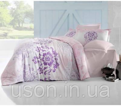 Комплект постельного белья сатин  Altinbasak  Ilma Pembe
