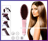 Расческа-выпрямитель с дисплеем Hair Brush Straightening HQT-906, фото 1