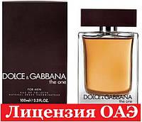 Туалетная вода Dolce & Gabbana The One for Men Дольче Габбана Зе Ван Фо Мен