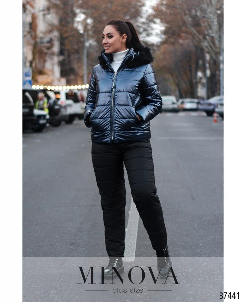 Спортивный костюм женский зимний батал