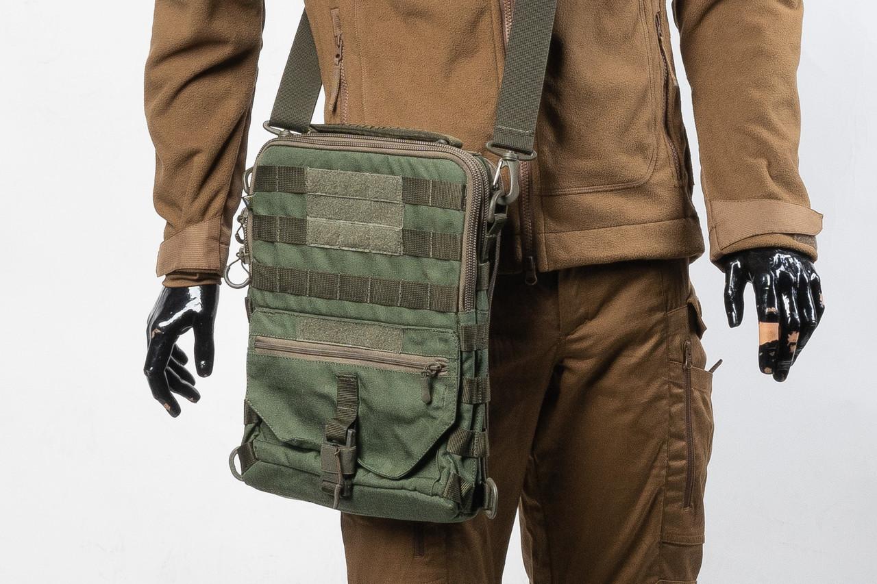 Тактичний планшет (тактична сумка планшет), колір олива