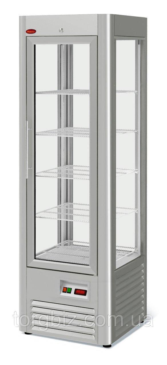 Холодильный шкаф Veneto RS-0,4 нержавейка (полки-решетка)
