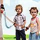 Поводок для ребенка на руку Anti-lost Голубой 2 метра Оптом, фото 2