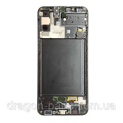 Дисплей Samsung A307 Samsung A30s с сенсором Черный Black оригинал , GH82-21190A, фото 2