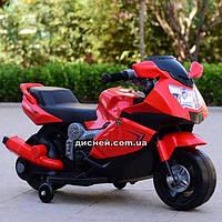 Детский мотоцикл T-7215 RED BMW на аккумуляторе, красный