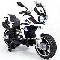 Детский мотоцикл T-7227 WHITE на аккумуляторе, белый